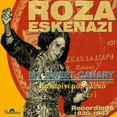 Kanarini Mou Glyko Recordings 1930-1947 Roza Eskenazi CD cover Cd Cover, Album Covers, Comic Books, Comics, Artwork, Greek, Movie Posters, Female, Google Search