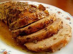 Cocina – Recetas y Consejos Pork Recipes, Mexican Food Recipes, Cooking Recipes, Healthy Recipes, Spanish Recipes, Baked Pork Loin, Yummy Food, Tasty, Carne Asada
