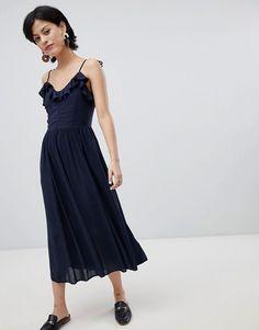 Vero Moda | Vero Moda - Robe longue volantée