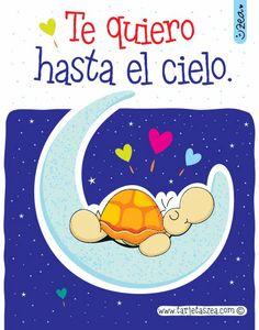 más allá del cielo-tortuga en la luna. © ZEA www.tarjetaszea.com