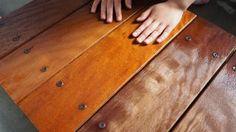 【ウッドデッキ】イタウバ塗装・耐久性比較:3週間経過(撥水テスト実施)