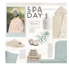 """Spa Day"" by meyli-meyli ❤ liked on Polyvore featuring beauty, Kassatex, Anja, Fig+Yarrow, Acorn, CB2 and spaday"
