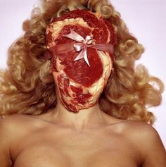 Meatface, see Carol Adam's book, The Pornography Of Meat