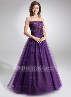 Quinceanera Dresses - $174.99 - Ball-Gown Strapless Floor-Length Taffeta Tulle Quinceanera Dress With Ruffle Beading (021004574) http://jjshouse.com/Ball-Gown-Strapless-Floor-Length-Taffeta-Tulle-Quinceanera-Dress-With-Ruffle-Beading-021004574-g4574?no_banner=1&utm_source=facebook&utm_medium=post&utm_campaign=6005941673279&utm_content=140118_13