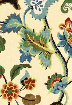 Khantau Tree Schumacher Fabric