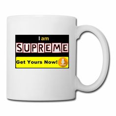 I am Supreme positive affirmation to inspire you and others every day. The item is one of the Mr. Positive daily affirmations product series. Help us spread positive thinking in you and others. #positive #accessories