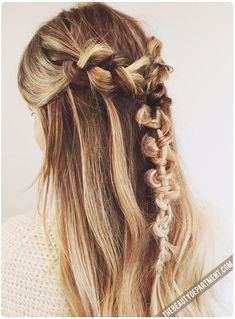 We're in LOVE with the Macrame Braid!