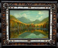 The Ralph Kylloe Gallery, LOVE the frame!