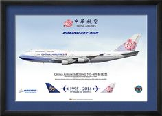 China Airlines Boeing 747-409 B-18251