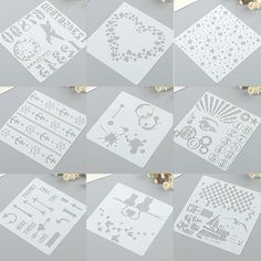 Find More Embellishments Information about diy vintage background stencils for diy scrapbooking plastic stencils templates drawing sheets ,High Quality stencil for diy,China stencils for diy scrapbooking Suppliers, Cheap stencil template from BestGreeting Store on Aliexpress.com