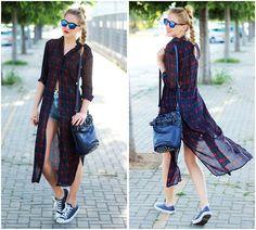 Zaful Shirt, I Clothing Bag, Converse Sneakers, Hawkers Sunglasses
