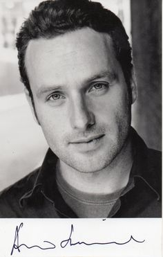 Andrew Lincoln. He reminds me of Viggo Mortensen in LOTR (Aragon)