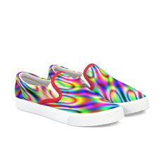 Rainbow pattern | pirino's Artist Shop Lower Case Letters, Lowercase A, Rainbow Colors, Slip On, Sneakers, Artist, Pattern, Shopping, Clothes