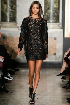 Malaika Firth for Emilio Pucci fall/winter 2014 collection