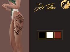 Murphy Sims  [MS] Julia Tattoo    3 colors    DOWNLOAD