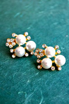 My Pearl Fantasy Earrings $7.99 on My Trinkettes