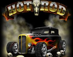 """Check out new work on my @Behance portfolio: """"Hot Rod Illustrations"""" http://be.net/gallery/63398569/Hot-Rod-Illustrations"""