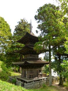 """Daihoji""(Tempio), Aokimura  Nagano Japan (Ottobre)"