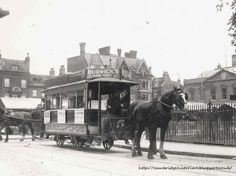 Tram in Market Street - 1910s Cambridge Historian: March 2013