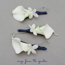 calla lily for boutonniere - Google Search