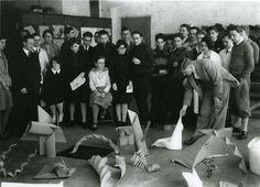 Josef Albers teaching