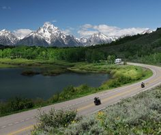 Rockefeller Parkway, Wyoming | drive between Yellowstone and Grand Tetons National Parks | T
