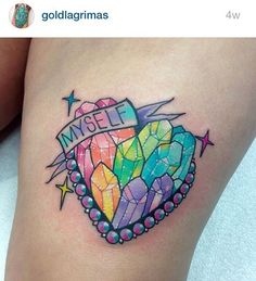 An honor to have the #pinkworkers tag used by one of my favourite Instagram tattooists @goldlagrimas based in California ❤️ his work is so bold, sparkly and sweet! Not to mention clean! I love this tattoo!! Love yourself! and show @goldlagrimas some love too!!! #cutetattoo #colourtattoo #crystaltattoo #girlytattoo #girlswithink #inkstagram #inkjunkie #instaart #kawaiitattoo #tattoo #tattooart #supportgoodtattooers #hearttattoo #bodyart #art #tattooist