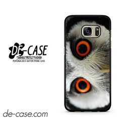 Eyes Owl DEAL-4019 Samsung Phonecase Cover For Samsung Galaxy S7 / S7 Edge