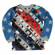 Molo t-shirt auto's 'Rasmus' - Kinderkleding Zazou