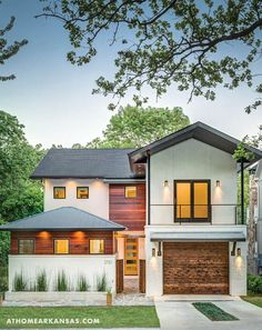 Chris Milligan, owner of Little Rock's Dwellings, drew on his family history to design, build, and furnish his new home   Sense of Place   At Home in Arkansas   June 2016   Home Exterior   Contemporary   Modern   Rustic Edge