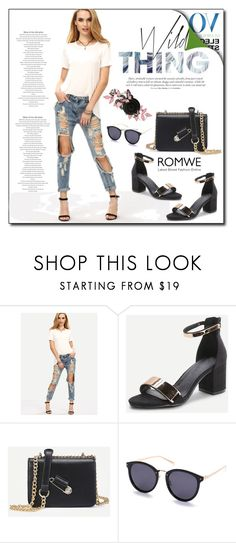 """""""ROMWE 4"""" by woman-1979 ❤ liked on Polyvore"""