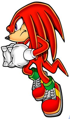 Sonic Mega Collection - Knuckles the Echidna - Gallery Knuckles The Echidna, Sonic & Knuckles, Sonic And Amy, Sonic And Shadow, Sonic The Hedgehog, Hedgehog Drawing, Sonic Underground, Sonic Art, Video Game Characters