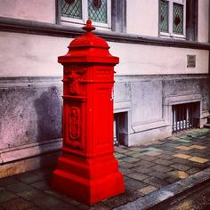 by sa_rah1: #ghent #visitgent #belgium #red #letterbox #redletterbox
