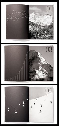 Andbanc Brochure by Tilman Solé for a Private Banking Company #brochure #graphic #diagram #mountain #photography #bank