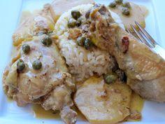 Chicken Fricase ( Fricasé de Pollo)