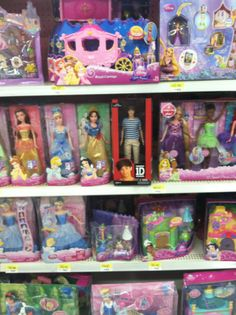 Louis doll with all the princesses