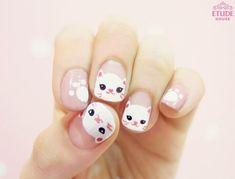 ネコが好き!猫ネイルデザインまとめ♡画像30枚&猫ネイルやり方動画 -page2 | Jocee