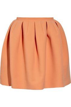 carven pleated skirt. chic/elegant