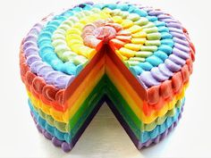 Petals Bath Boutique: Rainbow Layered Cold Process Soap Cake with Petal Piping Soap Cake, Cupcake Soap, Cupcake Cookies, Decorative Soaps, Cute Cakes, Awesome Cakes, Cold Process Soap, Soap Recipes, Home Made Soap
