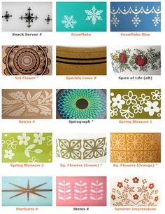 I'm looking for brown or olive green ones, or yellow and orange. The teals are…