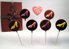 Chocolate Shoe Box for Mother's Day