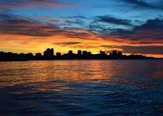 Darwin city skyline at sunset. Original pin description: Isn't Darwin just beautiful?! #big4howardsprings #darwin #city