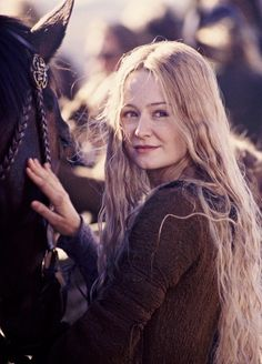 The Lord of the Rings: The Two Towers - Publicity still of Miranda Otto. The image measures 1166 * 1772 pixels and was added on 12 August The Ring Series, Shield Maiden, The Two Towers, Jrr Tolkien, Legolas, Wedding Art, Middle Earth, Lord Of The Rings, Lotr