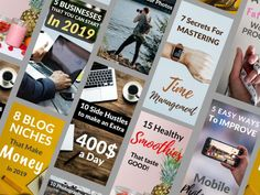 Adel will design you professional and eye catching Pinterest images that will drive traffic to your blog posts. All the images will have your logo or website name on them (if you want to). The images are royalty free and can be used for commercial use. (affiliates) #pinterestpindesign, #fiverr, #huntlancer