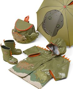 "Kidorable ""Dinosaur"" Umbrella.  Original price: $14.00 PRICE WITH HONEY: $9.52  #HoneyFinds (07/01/13)"