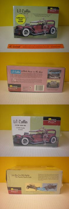 Hot Rod 2582: 2000 Revell Monogram 1932 Ford Deuce Sedan Show Car 392 Desoto Engine + Skeleton -> BUY IT NOW ONLY: $40 on eBay!