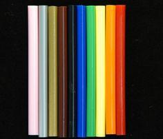 Colored Hot Melt Mini Sticks (Mini 5/16-inch Diameter) (Glu-Stix)