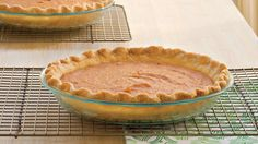 This classic Southern recipe is one of our absolute favorites. Soul-soothing sweet potato pie comes together simply with a pre-made crust and a rich, nutmeg-infused sweet potato filling. You'll want to save room for a slice of this pie after dinner.