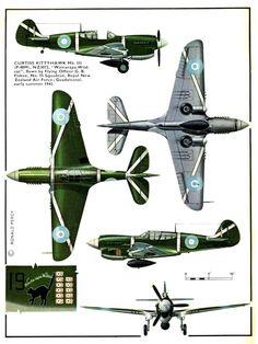 Curtiss P-40 Kittyhawk (136+) Page 02-960
