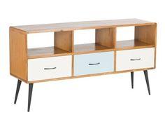 Californication 3 Drawer Vintage Retro TV Stand / TV Cabinet Unit, Sale | eBay £664